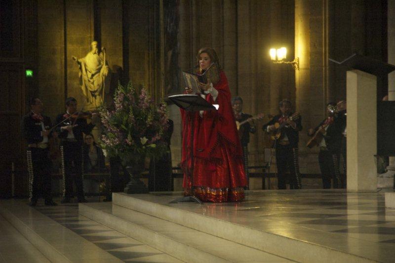 Guadalupe Pineda en Notre Dame de París